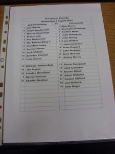 08-08-2012-Teamsheet-AFC-Wimbledon-v-Portsmouth-Friendly-Thanks-for-viewing
