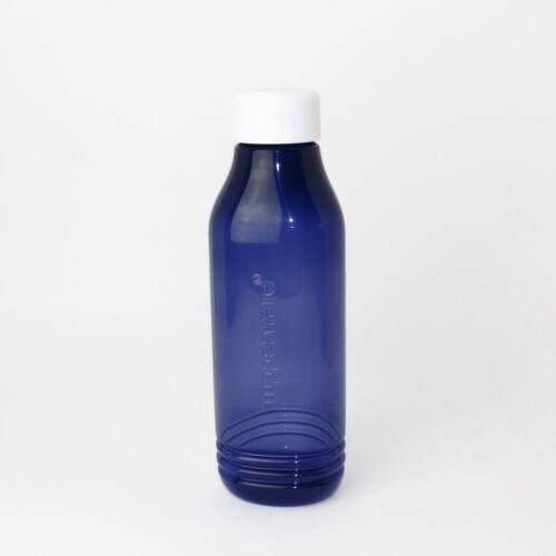 Tupperware ecoeasy bouteille bouchon blanc 750 ml bleu