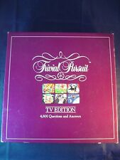 TRIVIAL PURSUIT TV EDITION - BOARD GAME - **FREE UK P&P**
