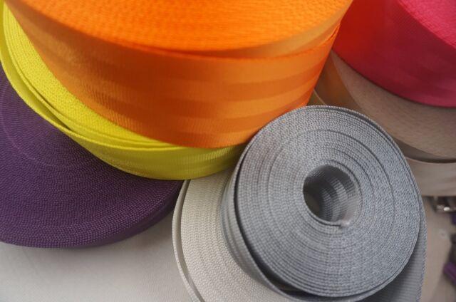 10 Yards, 2'' inch (48mm) Seat Belt Nylon webbing
