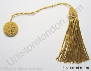 Cap Cords With Tassels Hat Cords Tassels For Cap Gold Wire R1177