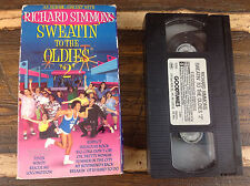 Richard Simmons Sweatin to The Oldies 2 VHS 1993 Video Aerobics