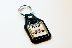 BMW-E12-Keyring-5-Series-518-520-520i-525-528-Retro-Classic-Car-Auto-Keytag