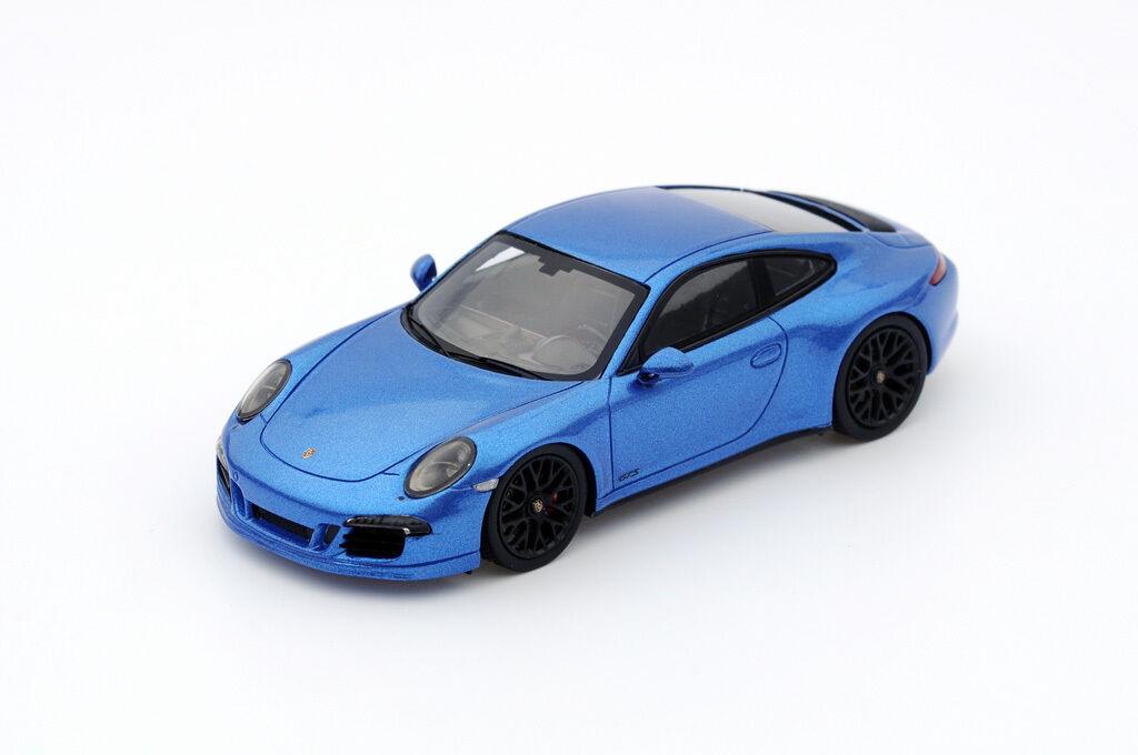 Spark porsche 991 GTS  bleu-bleu s4938 1 43  acheter pas cher neuf