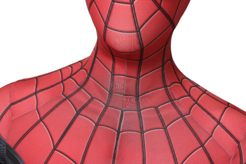 Hot Movie Spider-Man:Far From Home Peter Spiderman Superhero Halloween One Piece