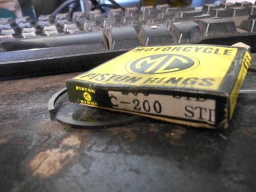NOS MC Brand Honda STD Piston Rings 64 C200 CA200 CT200 59 CA95 13011-030-000