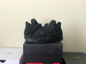 Nike-Air-Jordan-4-Black-Cat-2020-Size-8-5-CU1110-010-IN-HAND