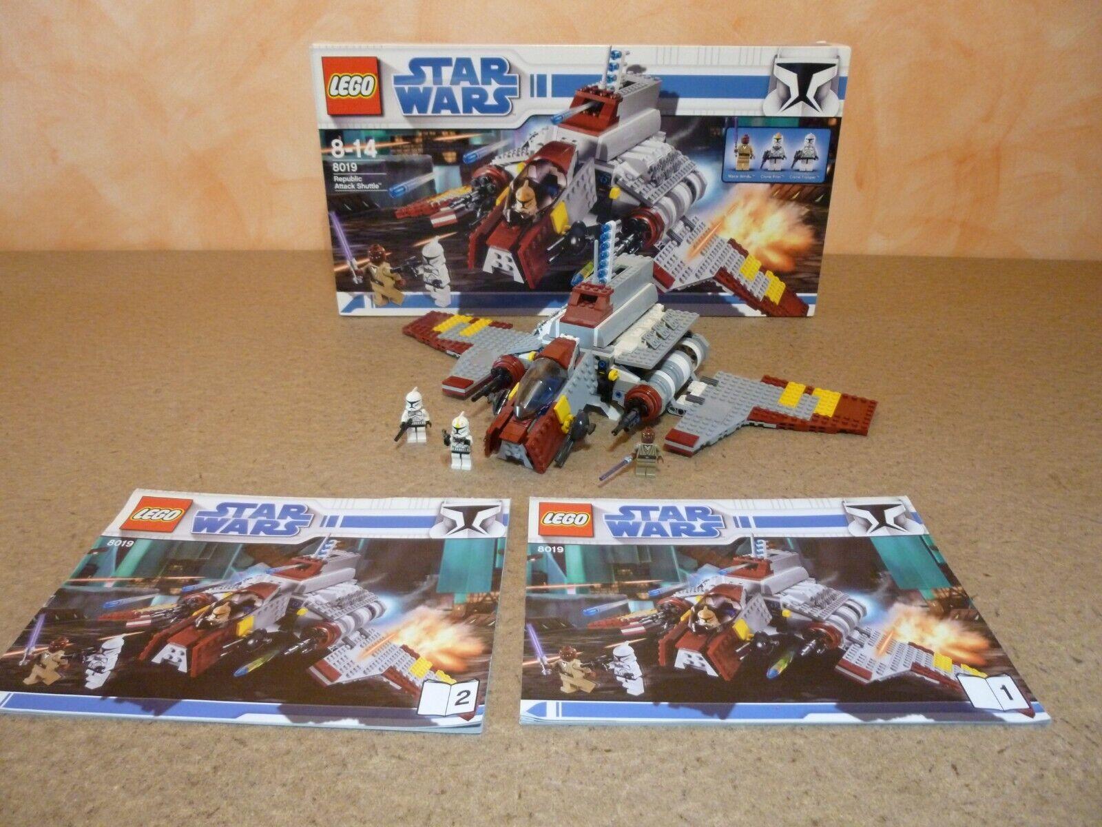 LEGO StarWars Republic Attack Shuttle (8019) mit OVP
