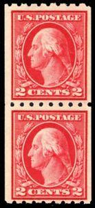 411-Mint-VF-NH-Pair-Paste-up-Pair-and-Single-Stamp-Cat-132-50-Stuart-Katz
