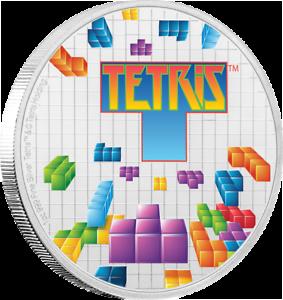 Niue - 2 Dollar 2019 - Tetris™ - Lentikulardruck in Farbe - 1 Oz Silber PP