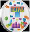 miniatuur 1 - Niue - 2 Dollar 2019 - Tetris™ - Lentikulardruck in Farbe - 1 Oz Silber PP