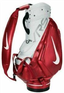 Nike-Vapor-Tiger-Woods-Tour-Staff-Cart-Bag-Collectors-Rare-Red