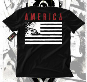 Metal Mulisha Street Bike Motor Cross Americana Tattoo Art Mens Tee OG IKON