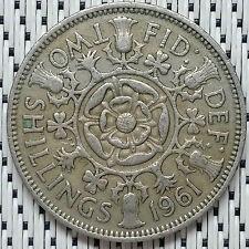 *GOOD Grade* GREAT BRITAIN - 1961 - 2 Shillings Elizabeth II #CAMB