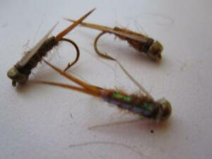 1 DZ D16-1 BEAD HEAD FLASHBACK PRINCE/'S NYMPHS  ***AWESOME*** SIZES
