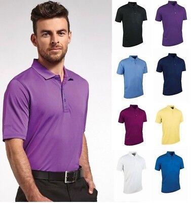 Glenmuir Men's Performance Maglietta Polo In Piqué Golf-traspirante In Vari Colori-mostra Il Titolo Originale