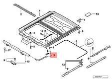 Genuine BMW 7 Series E38 Sunroof Deflector Lever Repair Kit OEM 54128173107