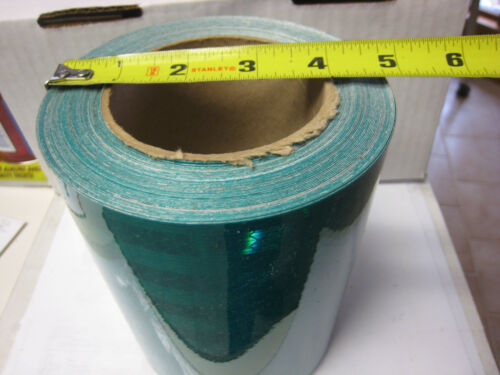"""6/"""" x 50 FEET HUNTER GREEN   REFLECTIVE CONSPICUITY TAPE"""