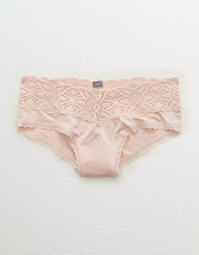 Colors Castaway Lace Underwear Panties Multiple Sizes Aerie Shine Cheeky