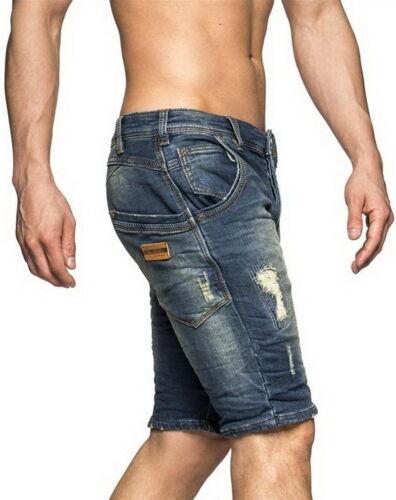 One Public OneP Jeans Short Bermuda Vintage Used Style kurze Hose Capri Beach