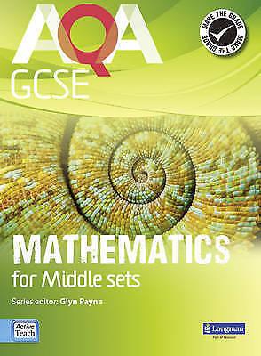 1 of 1 - AQA GCSE Mathematics for Middle Sets Student Book (GCSE Maths AQA 2010), Accepta