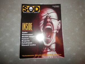 Details about SOD # 3 Sounds of Death Magazine Black Death Metal Zine  Dismember Morbid Angel