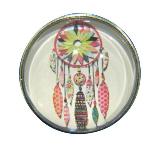 Noosa Style Chunk Chunks Snap Button Jewellery Charms Dream Catcher Feathers