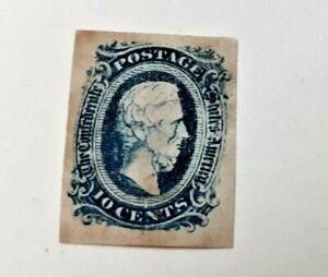 Confederate stamp #11 D 61