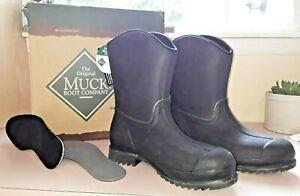 Vintage-Unused-Muck-Boots-Wellie-Ranch-Rubber-Men-039-s-9-9-5-Women-039-s-10-10-5