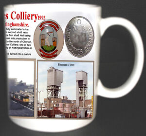 BEVERCOTES-COLLIERY-COAL-MINE-MUG-LIMITED-EDITION-GIFT-MINER-NOTTINGHAMSHIRE-PIT