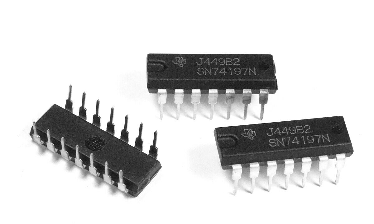 NOS Vintage 1978 Asynchronous 4-bit Binary Counter #7493PC