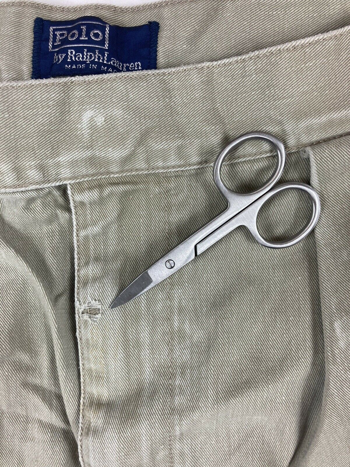 POLO RALPH LAUREN Shorts Chino Pleated 90s 80s VT… - image 4