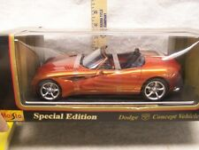 NEW in the box Maisto 1:37 scale Dodge Convertible motorized die cast car