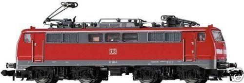 MINITRIX 12759  LOCOMOTORA ELÉCTRICA BR 111 DB AG rosso  NUEVO