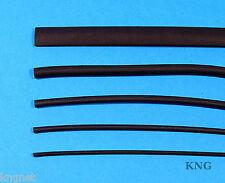 5m Heat Shrink Tubing 9.5mm, 6.4mm, 4.8mm, 3.2mm, 2.4mm