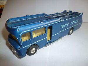 Ecurie Ecosse Transporter Racing Car Dinky Toys Fabrication Année 60-70