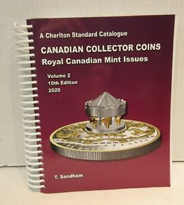 2020-Charlton-Standard-Catalogue-Canadian-Collector-Coins-Vol-2-Sandham-10th-Ed