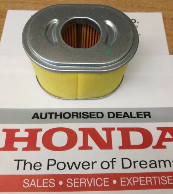 GENUINE HONDA AIR FILTER GX160 GX200 17210-ZE1-505 FREE RECORDED DELIVERY