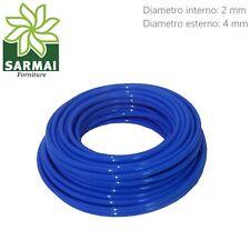 Tubo Aria Compressa 2x4 mm in Poliuretano lineare flessibile 25 metri 22 Bar