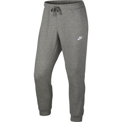 Nike Men/'s Training Pants Dri-FIT Fleece Training Pants 860373 071 Grey Charcoal