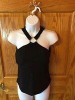 Women's Shape Fx By Newport News. Black 34c.