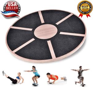 Wooden Balance Board Plate Yoga Anti-Skid High Level Training Balance Gym Board
