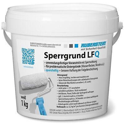 Baustoffe & Holz GemäßIgt Ruberstein® Sperrgrund Lfq Weiß 1 Kg StäRkung Von Sehnen Und Knochen Putz