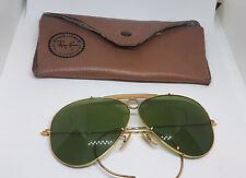Usati vintage Ray-Ban B&L occhiali da sole Aviator con custodia