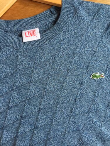 Lacoste 185 Triangle Size 3 Knit £ Jumper Rrp 1TEwq8Hx