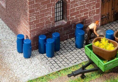 Faller 180970-1//87 Neu H0 9 Plastikfässer