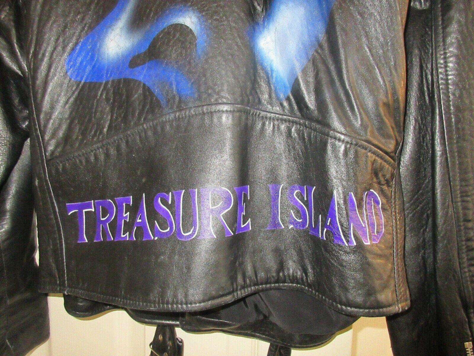 MYSTERE , Cirque Du Soliel ,Ladies Jacket ,Size Large ,