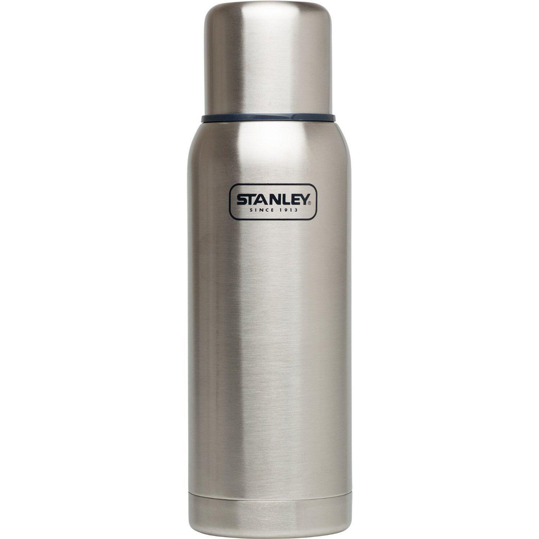 Stanley Adventure Heavy Duty Outdoor Vacuum Bottle Flask, 1L, Stainless Steel