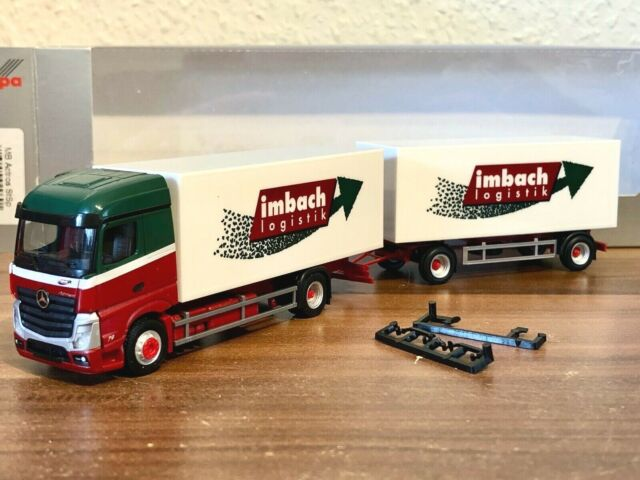 Herpa LKW MB Actros 11 Streamspace PrHZ Camion Transport 938075