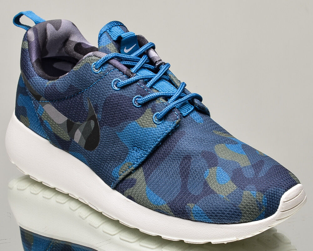 Nike WMNS lifestyle Roshe One Print women lifestyle WMNS sneakers rosherun NEW blue obsidian 652016